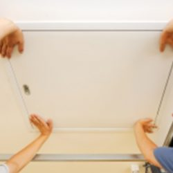 Montáž sťahovacích schodov LUSSO